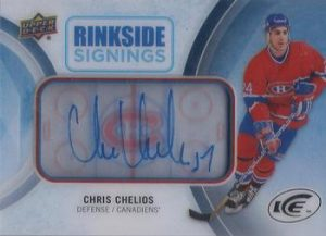 Rinkside Signings Chris Chelios