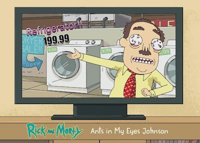 Rixty Minutes Ants in My Eyes Johnson