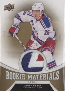 Rookie Materials Patch Jimmy Vesey