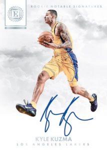 Rookie Notable Signatures Kyle Kuzma