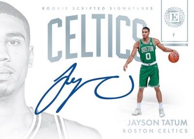 Rookie Scripted Signatures Jayson Tatum