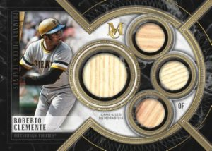 Single Player Primary Pieces Quad Relics Legends Roberto Clemente
