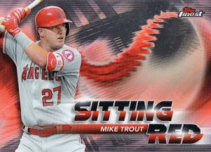 Sitting Red Mike Trout