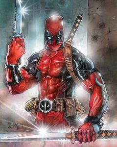 Sketches Deadpool