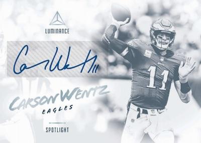 Spotlight Signatures Carson Wentz