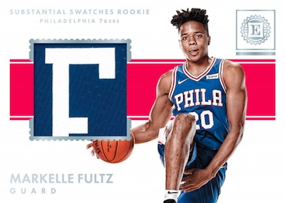 Substantial Swatches Rookies Markelle Fultz