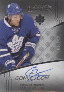 TBD Decided Rookie Auto Redemption Connor Brown