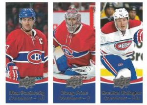 Team Triples Max Pacioretty, Carey Price, Brendan Gallagher