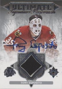 Ultimate Performers Auto Jersey Tony Esposito