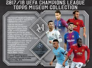 2017-18 Topps Museum Collection UEFA Champions League