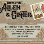 2018 Topps Allen & Ginter