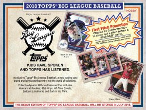 2018 Topps Big League