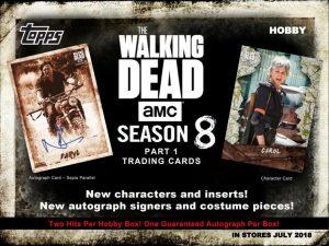 2018 Walking Dead Season 8 Part 1