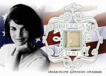 American Royalty Relics Jacqueline Kennedy Onassis