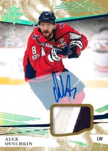Base Auto Jersey (Patch Parallel) Alex Ovechkin