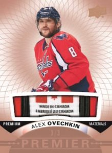 Base Tag Relics Alex Ovechkin