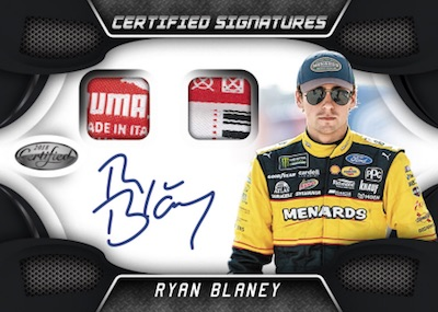 Certified Signatures Swatches Black Ryan Blaney