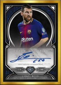 Framed Autos Lionel Messi