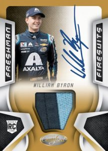 Freshman Firesuits Auto Relics William Byron
