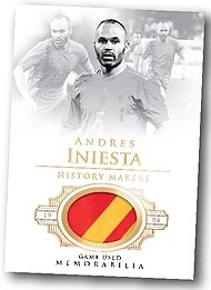 History Makers Relics Andres Iniesta