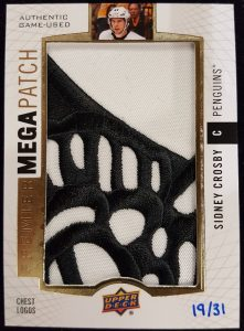 Mega Patch Chest Logos Sidney Crosby
