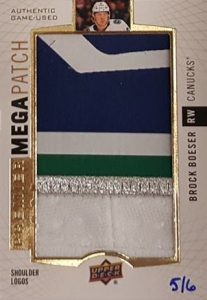 Mega Patch Shoulder Logo Brock Boeser