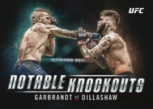Notable Knockouts Garbandt vs Dillashaw