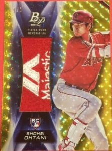 Platinum Patches Shohei Ohtani