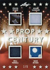 Prop Century 4 Relics David Spade, Adam Sandler, Will Ferrell, Mike Myers