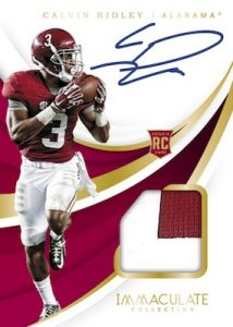 Rookie Patch Auto Calvin Ridley