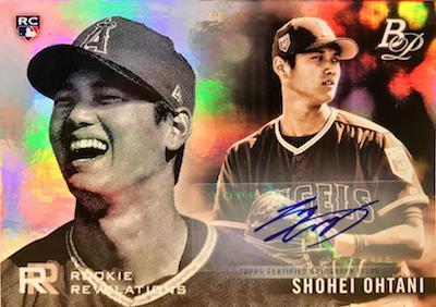 Rookie Revelations Auto Shohei Ohtani