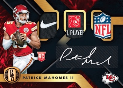 Rookie Triple Jersey Auto Prime Tag Mock Up