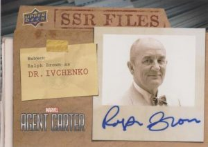 SSR Files Auto Ralph Brown