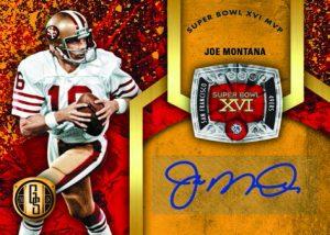 Super Bowl Diamond Signatures Joe Montana
