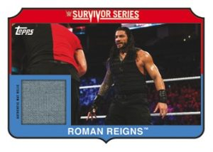 Survivor Series 2017 Mat Relics Roman Reigns