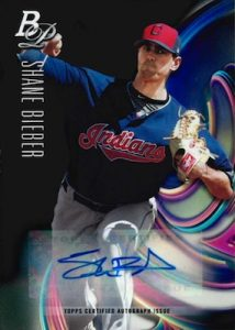 Top Prospects Auto Shane Bieber