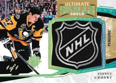 Ultimate Skills Shield Sidney Crosby