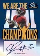 We Are the Champions Auto Calvin Ridley