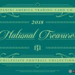 2018 National Treasures Collegiate Football