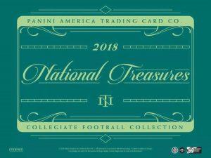 2018 National Treasures Collegiate Football