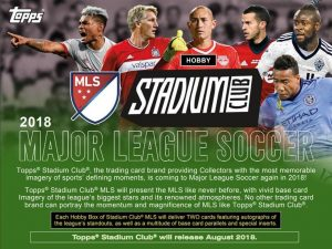 2018 Topps Stadium Club MLS