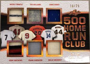500 Home Run Club Mickey Mantle, Eddie Mathews, Ted Williams, Frank Robinson, Ernie Banks, Willie McCovey
