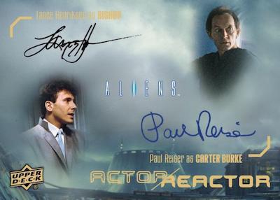 Actor Reactor Dual Auto Paul Reiser, William Hope