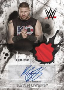 Auto Relic Kevin Owens