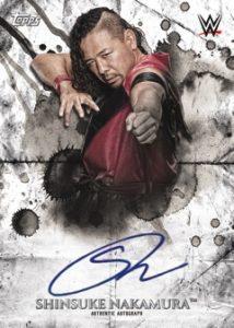 Autographs Shinsuke Nakamura