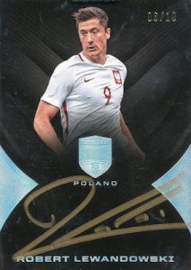 Base Auto Robert Lewandowski