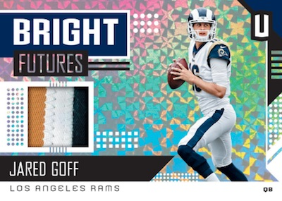 Bright Futures Memorabilia Jared Goff