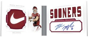 Combo Player Signature Booklet Baker Mayfield