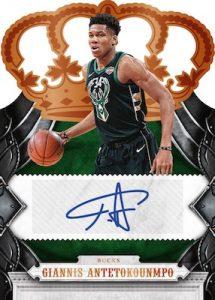 Crown Autographs Giannis Antetokounmpo