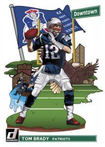 Downtown! Tom Brady